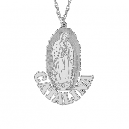 Our Lady of Guadalupe Pendant (30x27mm)