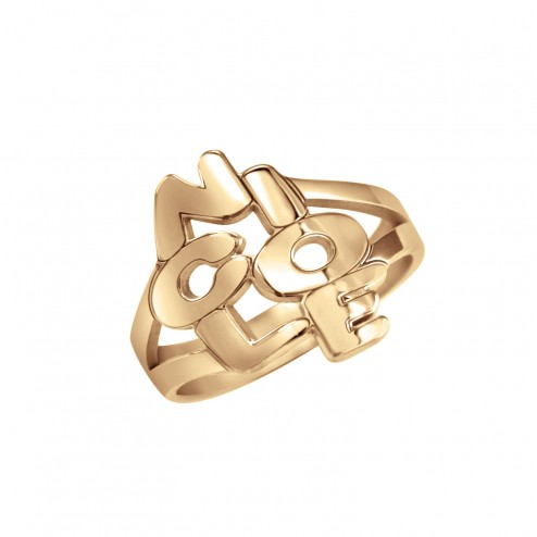 Traditional Name Phrase Ring 16mm