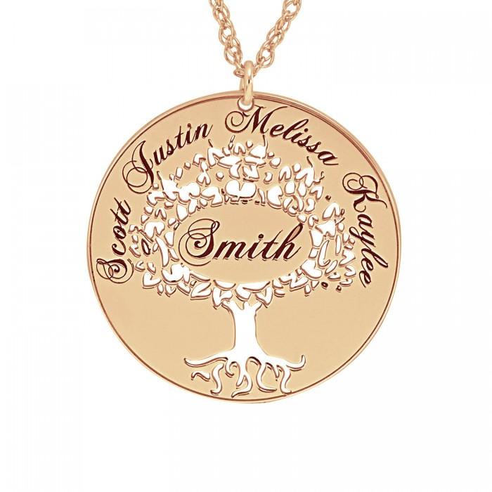 Cutout family tree pendant 26mm personalized jewelry cutout family tree pendant 26 mm personalized jewelry aloadofball Gallery