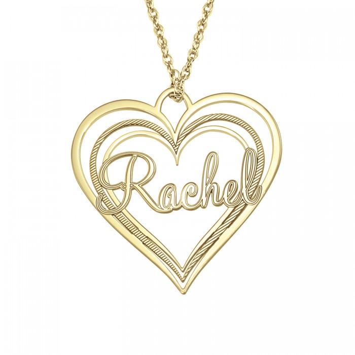 Triple heart name pendant 30x32mm personalized jewelry triple heart name pendant 30 x 32 mm personalized jewelry aloadofball Choice Image