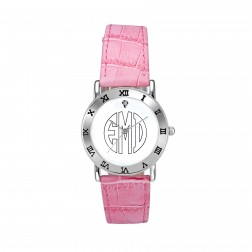 Ladies Block Outline Monogram Watch 32mm