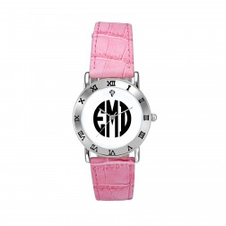 Ladies Block Monogram Watch 32mm