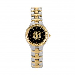 Two Toned Ladies Traditional Monogram Watch 26mm
