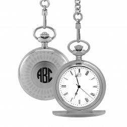 Gents Stainless Steel Pocket Watch 47mm