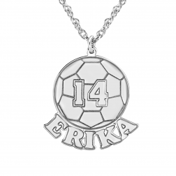 Your Soccer Ball Pendant 16x20mm