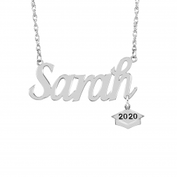Graduation Name Plate Necklace
