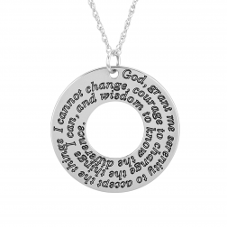 Round Prayer Necklace