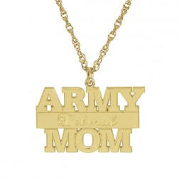 Army Personalized Pendant 14x24mm