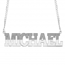 Men's Name necklace