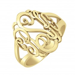 Classic Monogram Ring 18mm