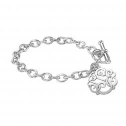 Classic Monogram Toggle Bracelet 20mm