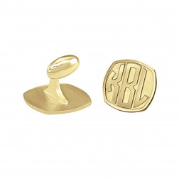 Cushion Original Monogram Cufflinks 18mm