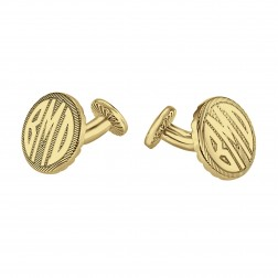 Round Original Monogram Cufflinks 18mm 87987