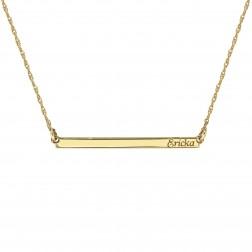 Itsy Bitsy Bar Necklace 3x39mm