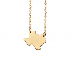 Home Sweet Home State Necklace 13mm