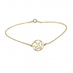 Ivy Monogram Bracelet 15mm