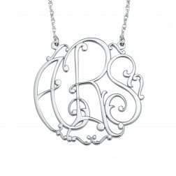 Ivy Monogram Necklace