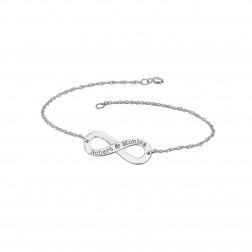 Couples Infinity Bracelet (12x30mm)