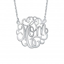 Mom Birthstone Necklace