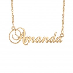 Cursive Name Necklace (11x36mm)
