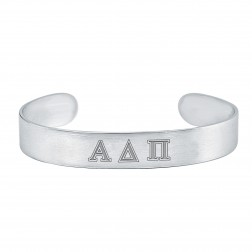 Three Greek Letters Sorority Cuff 12mm