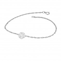 Mini Three Initials Classic Bracelet 10mm