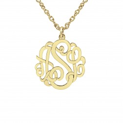 Three Initials Mini Classic Pendant 10mm