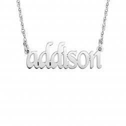 Kids Name Necklace (10x26mm)