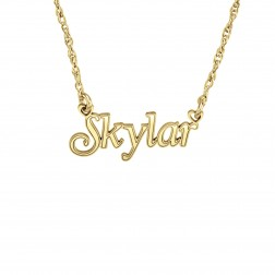 Kids Name Necklace (8.8x22.4mm)
