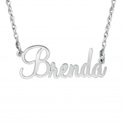 Cursive Name Necklace (12x23mm)