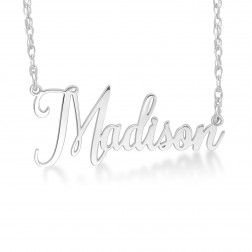 Personalized Script Name Necklace (14.5 x 33.75mm)