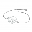 Block Monogram Bracelet 20 mm Personalized Jewelry