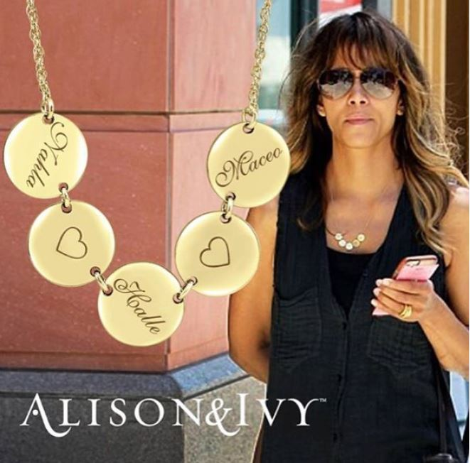 Halle Berry wears Alison & Ivy